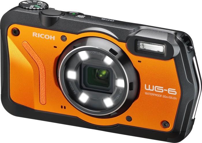 Ricoh WG-6 orange (3852)