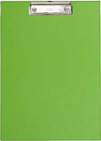 Maul writing tablet A4 with foil covering, light green (2335254)