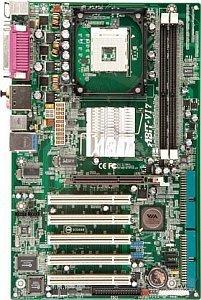 ABIT VI7, PT800 (dual PC-3200 DDR)