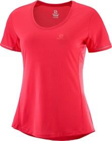 Salomon Agile SS Tee Shirt kurzarm hibiscus (Damen) (C11030) ab € 35,00 9jCFL