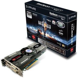 Sapphire Radeon HD 6970 FleX Battlefield 3, 2GB GDDR5, 2x DVI, HDMI, 2x mini DisplayPort, full retail (11187-04-50G)