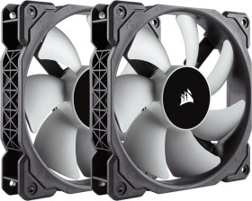 Corsair ML Series ML120 Premium magnetic Levitation Fan, 120mm, 2-pack (CO-9050039-WW)
