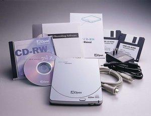 AOpen CRS-446U, 4x/4x/6x, USB, przenośny, retail