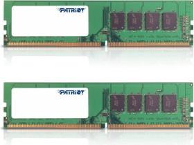 Patriot signature Line DIMM kit 16GB, DDR4-2400, CL16 (PSD416G2400K)