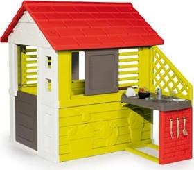 Smoby Natur Haus mit Sommerküche (810713)