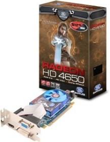 Sapphire Radeon HD 4650 low profile, 512MB DDR2 128bit, VGA, DVI, HDMI, full retail (11140-18-40R)