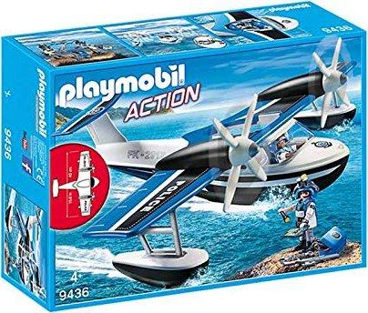 playmobil Action - Polizei-Wasserflugzeug (9436) -- via Amazon Partnerprogramm