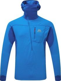 Mountain Equipment Eclipse Hooded Zip-T Shirt langarm finch blue/lapis (Herren) (ME-002285-ME-01543)