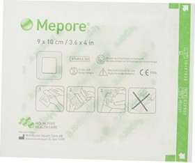 Mölnlycke Mepore 10x9cm adhesive plaster, 50 pieces (67 09 00)