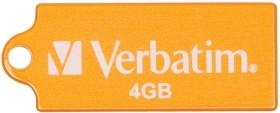 Verbatim Store 'n' Go Micro orange 4GB, USB-A 2.0 (47421)