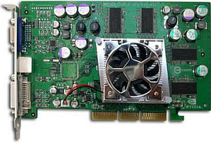 Sparkle SP8836-DT, GeForceFX 5700, 128MB DDR2, DVI, TV-out, AGP