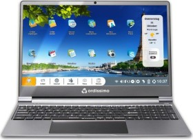 "Ordissimo Laptop 15"" Sarah grey, Celeron N4000, 4GB RAM, 128GB SSD (art0372-de)"