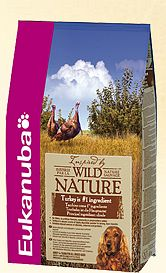 Eukanuba wild Nature turkey dog food 2.5kg