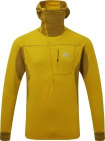 Mountain Equipment Eclipse Hooded Zip-T Shirt langarm acid/fir green (Herren) (ME-002285-ME-01544)