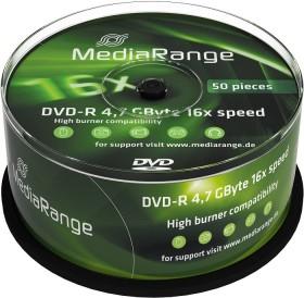 MediaRange DVD-R 4.7GB 16x, 50er Spindel (MR444)