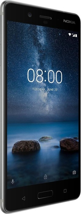 Nokia 8 Single-SIM 64GB silber