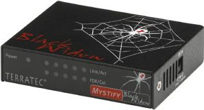 TerraTec Mystify Black Widow 5-port mini switch (7330)