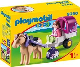 playmobil 1.2.3 - Pferdekutsche (9390)