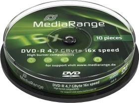 MediaRange DVD-R 4.7GB 16x, 10er Spindel (MR452)