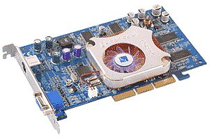 Albatron Ti4280E, GeForce4 Ti4200 8X, 64MB DDR, TV-out, AGP