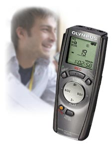 Olympus VN-240PC digital voice recorder (N1293722)