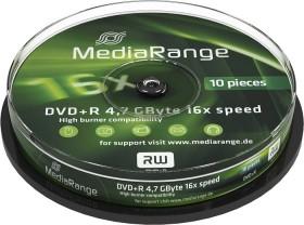 MediaRange DVD+R 4.7GB 16x, 10er Spindel (MR453)