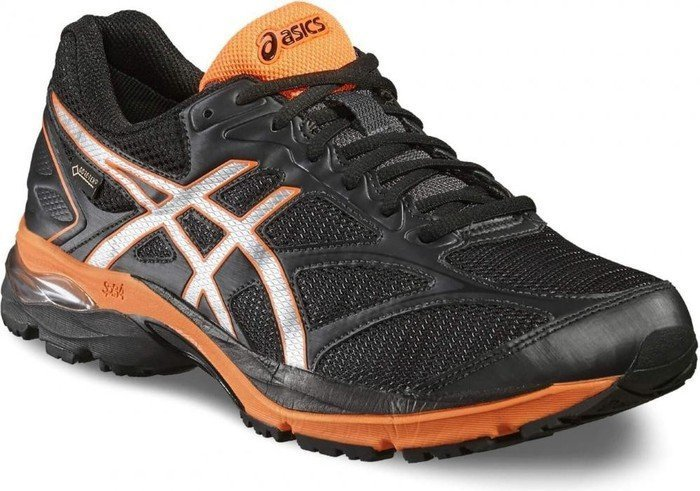 Asics Gel-Pulse 8 GTX black/silver/hot orange (Herren) (T6E2N-9093)