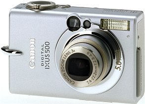 Canon cyfrowy Ixus 500 (9343A007)