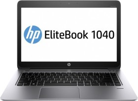 HP EliteBook Folio 1040 G2, Core i5-5200U, 8GB RAM, 256GB SSD, Windows 10 Pro, UK (N6Q25EA#ABU)