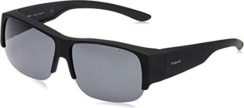 Polaroid Herren Sonnenbrille Pld 7008/S Y2 DL5, Schwarz (Matt Black/Grey Pz), 54