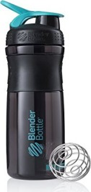 BlenderBottle SportMixer 0.83l Trinkflasche schwarz/blau (502840/600078)