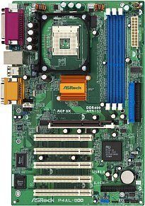 ASRock P4AL-800, M1681 (PC-3200 DDR)