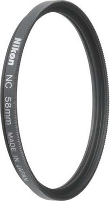 Nikon Filter neutral colour (NC) 58mm (FTA70101) -- via Amazon Partnerprogramm