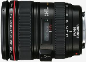 Canon Objektiv EF   24-105mm 4.0 L IS USM (0344B003/0344B006)