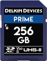 Delkin Prime 1900X R300/W100 SDXC 256GB, UHS-II U3, Class 10 (DDSDB1900256)