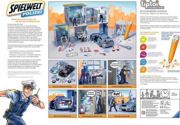 Gesellschaftsspiele Ravensburger 00759 tiptoi® Spielwelt Polizei