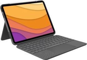 "Logitech Combo Touch, KeyboardDock for Apple iPad Air 4 10.9"" grey, UK (920-010303)"