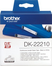 Brother DK-22210 continous label, 29mm, white, 1 Role (DK22210)