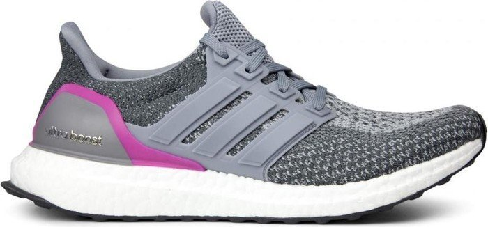 adidas Ultra Boost grey/shock pink (Damen) (AQ5936)