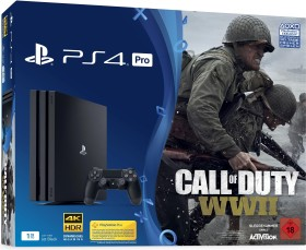 Sony PlayStation 4 Pro - 1TB Call of Duty: WWII Bundle schwarz