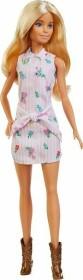 Mattel Barbie Fashionistas Barbie im Blumenkleid und Cowboystiefeln (FXL52)