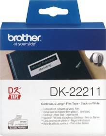 Brother DK-22211 continous label, 29mm, white, 1 Role (DK22211)