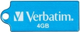Verbatim Store 'n' Go Micro blau 4GB, USB-A 2.0 (47420)