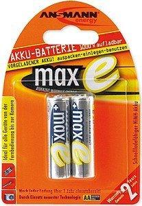 Ansmann maxe Mignon AA NiMH Akku 2100mAh, 2er-Pack (5030992)