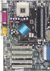 Chaintech CT-7NJL4, nForce2 400 Ultra [dual PC-3200 DDR]