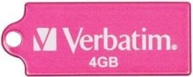 Verbatim Store 'n' Go Micro pink 4GB, USB-A 2.0 (47419)