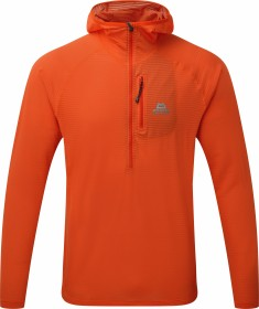 Mountain Equipment Solar Eclipse Zip-T Shirt langarm cardinal orange (Herren) (ME-002947-ME-01252)