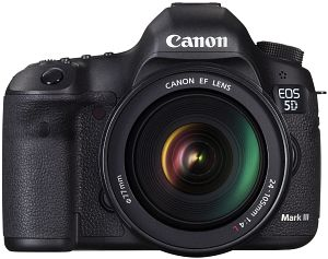 Canon EOS 5D Mark III black with lens EF 24-105mm 4.0 L IS USM (5260B026)