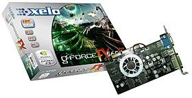 Xelo GeForceFX 5600XT, 128MB DDR, DVI, TV-out, AGP