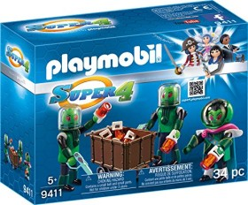 playmobil Super 4 - Sykronier (9411)
